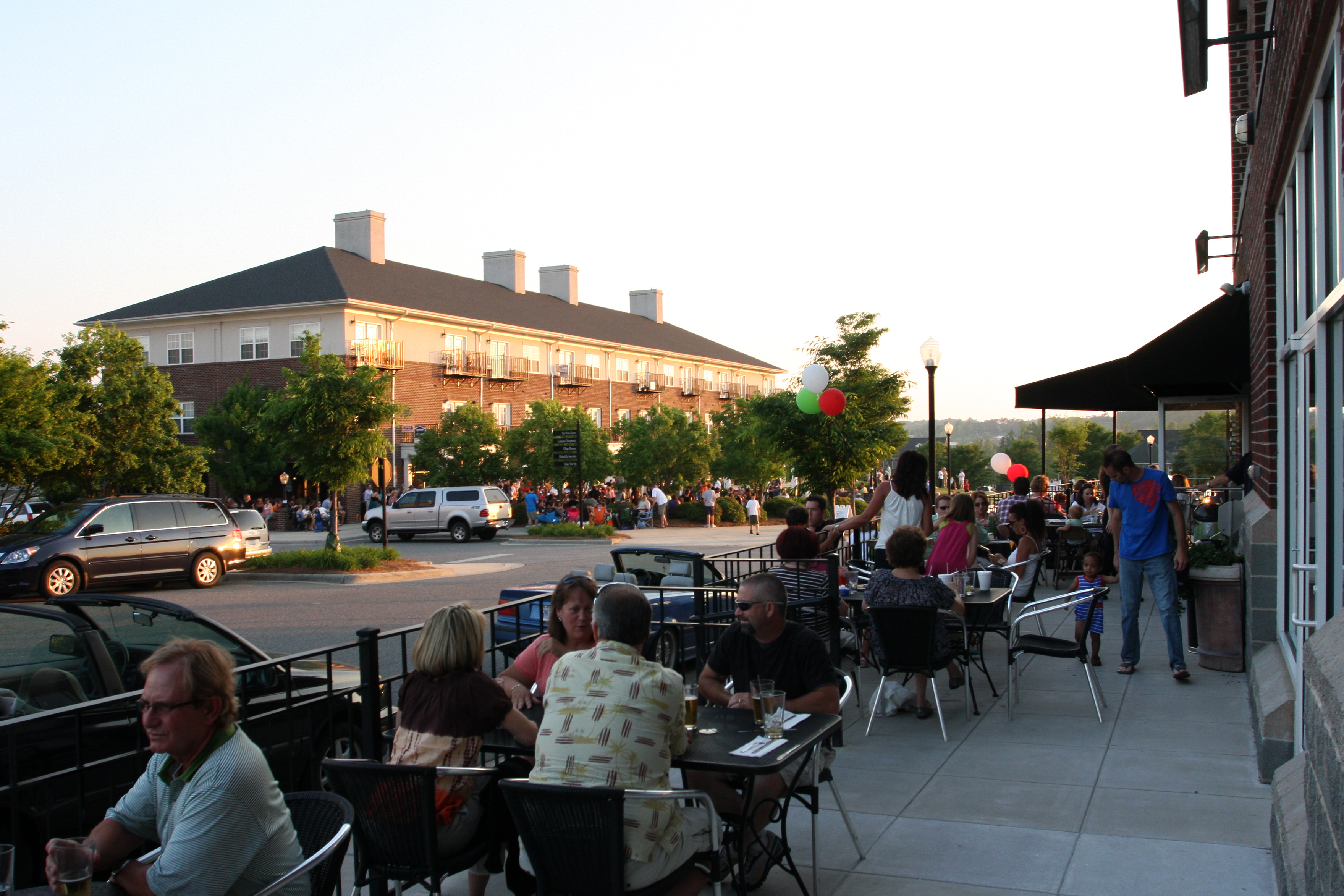 Party on the Plaza | Afton Village - A New Old Neighborhood inafton village
